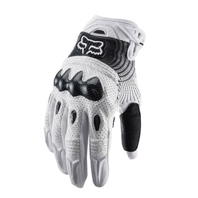 Fox Bomber Gloves Men white/black